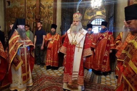 Служение архиепископа Феогноста в Саввино-Сторожевском монастыре.